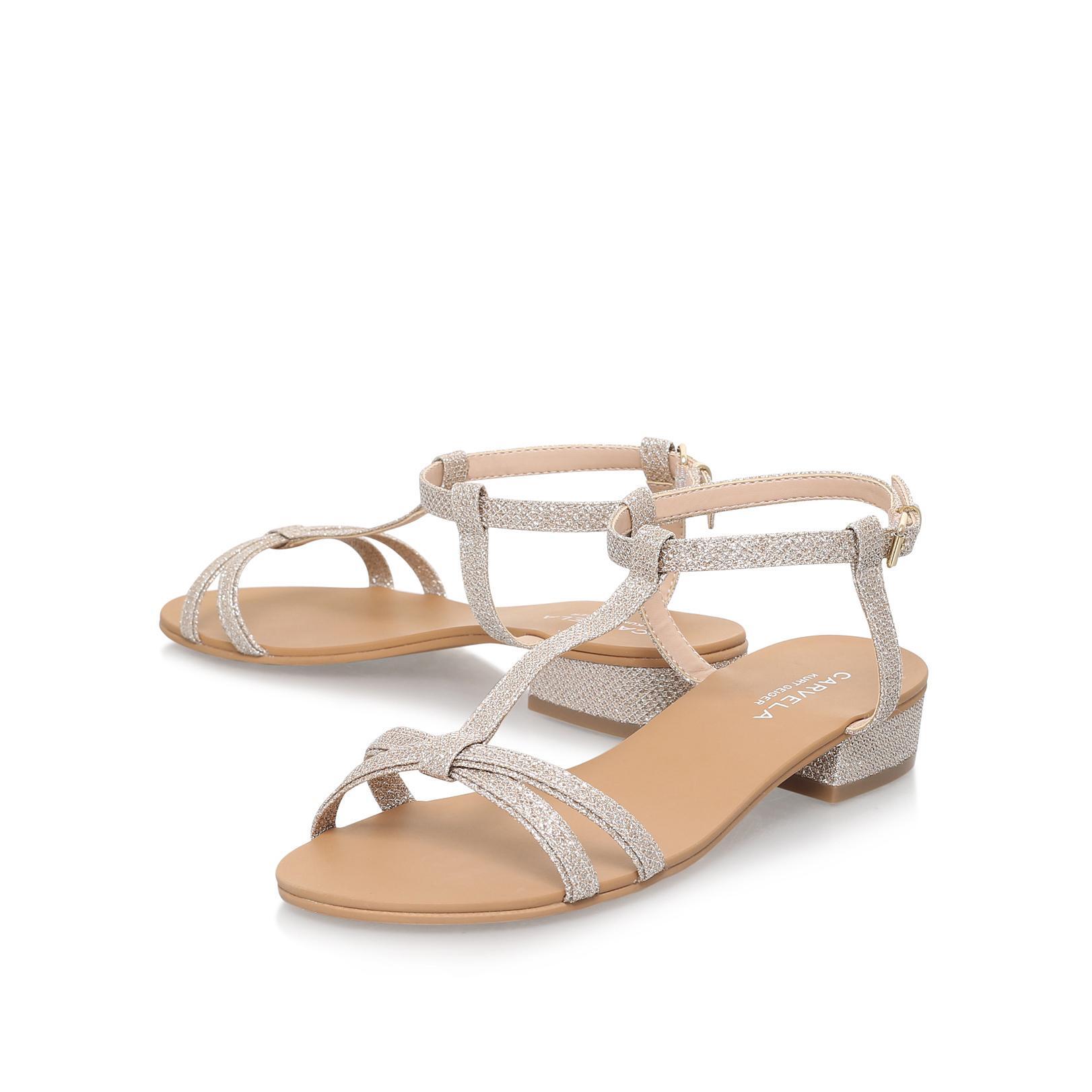 havana multi coloured high heel sandals from KG Kurt
