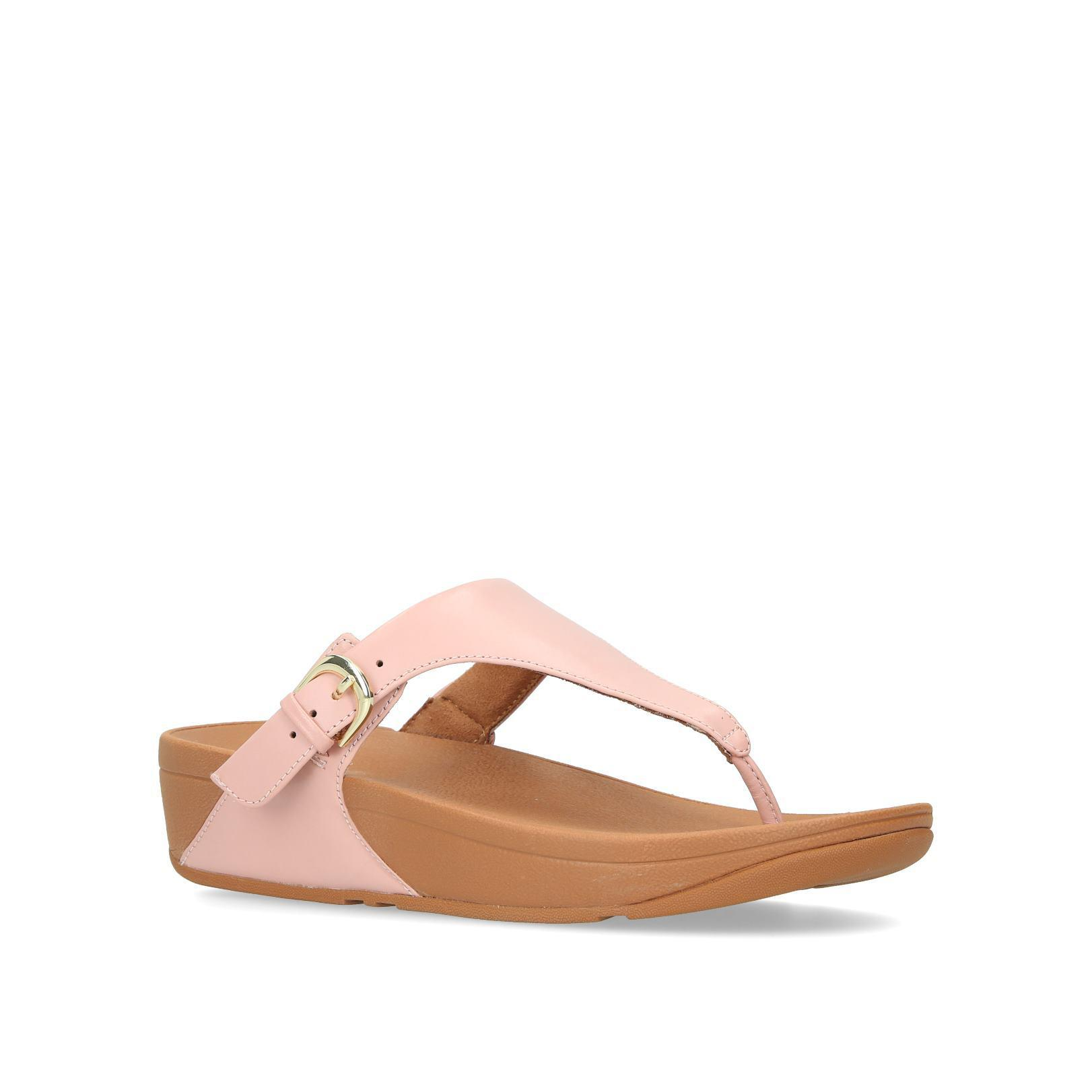 dd100ccbf56 Fitflop Womens Dusky Pink Skinnytm Sandals in Pink - Lyst