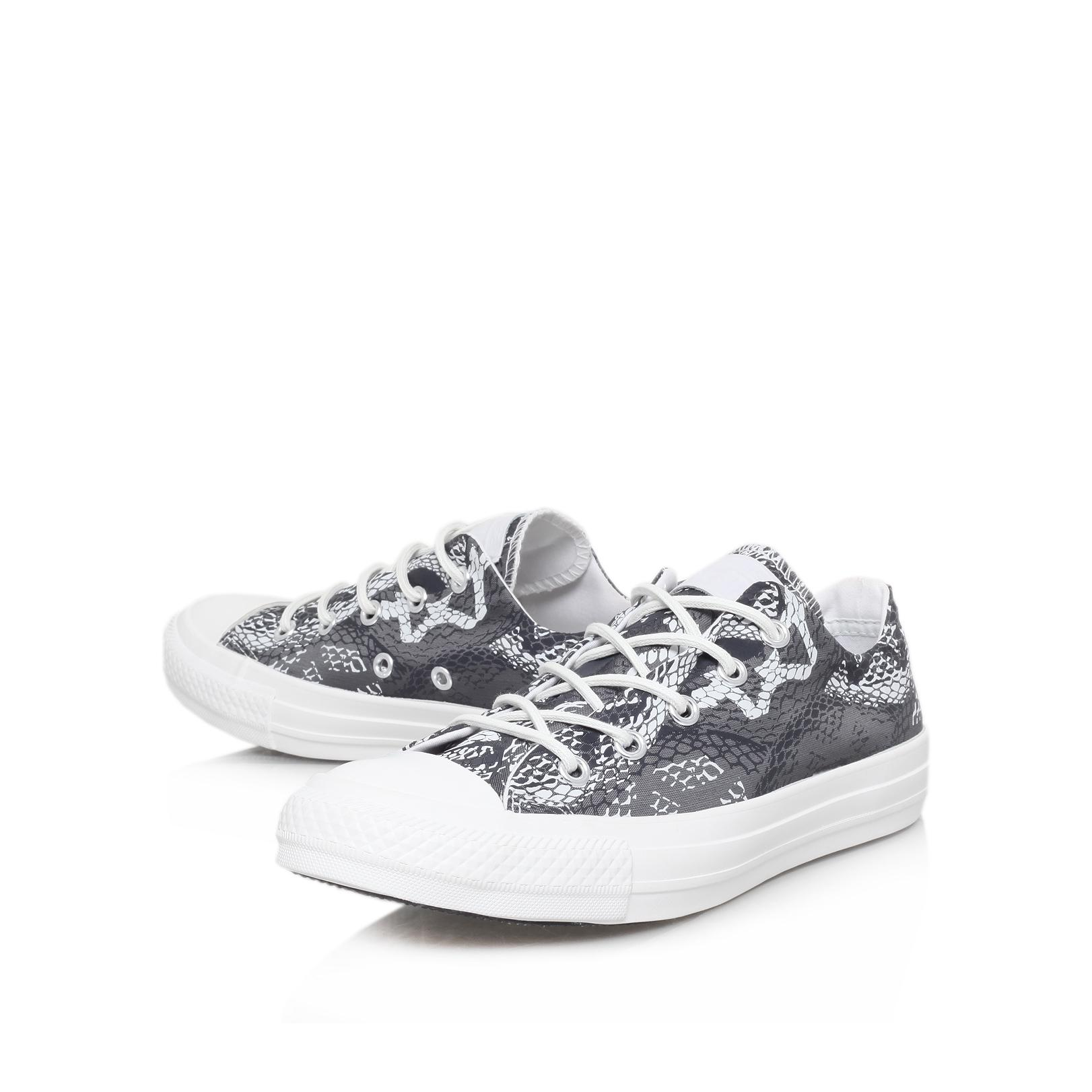 6664644683a2ae Converse Ct Reptile Low in Black - Lyst