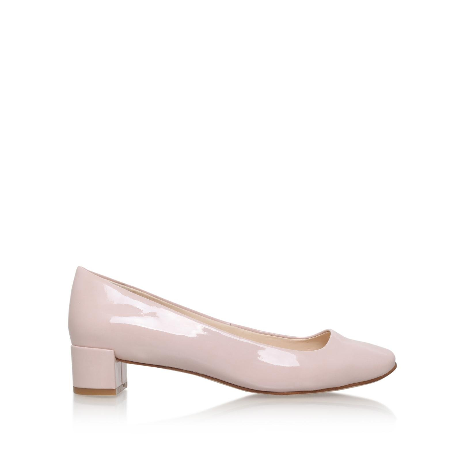 Pink Patent Court Shoes