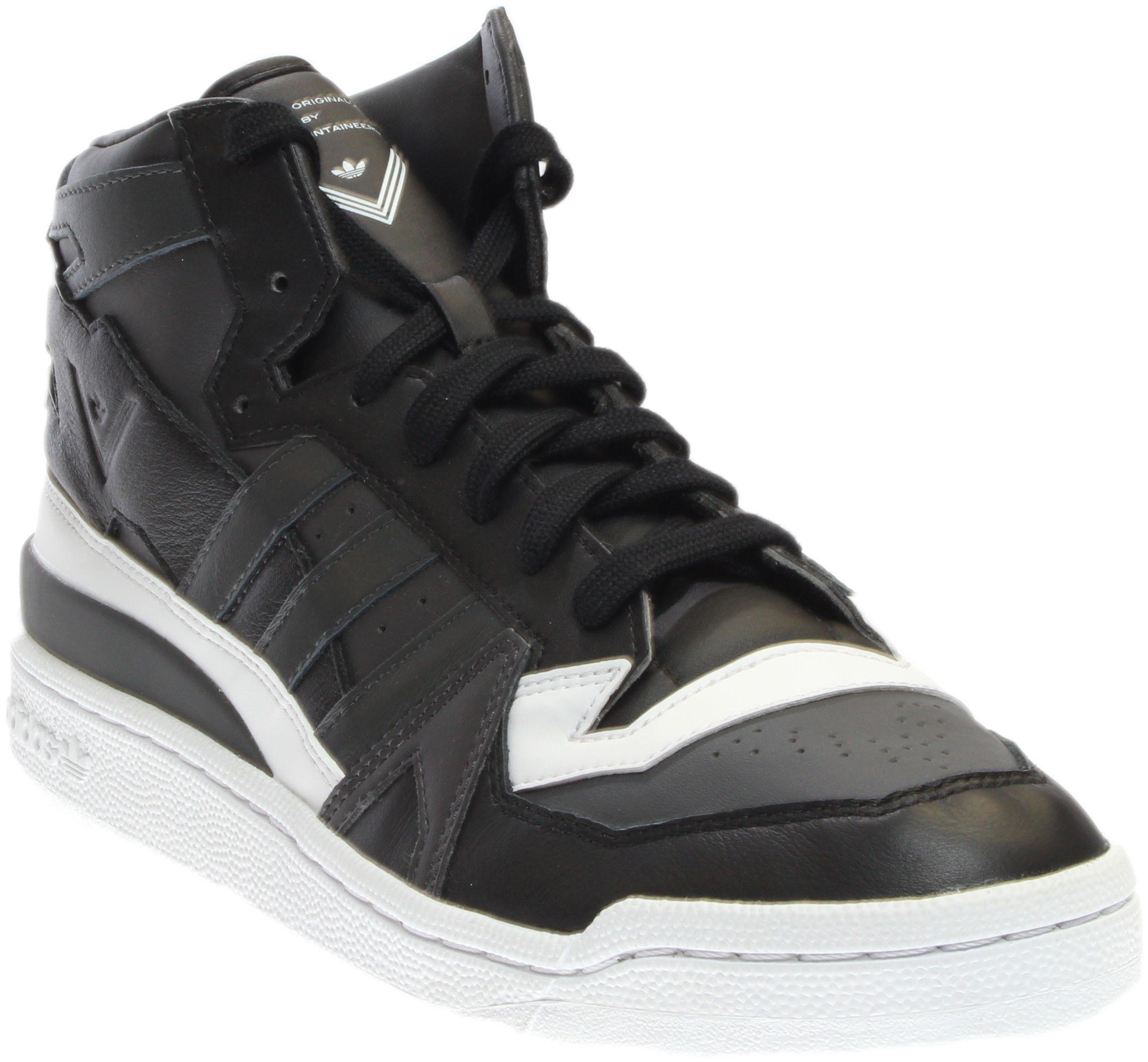 best service e7e82 a66d4 Lyst - adidas White Mountaineering Forum Mid in Black for Men