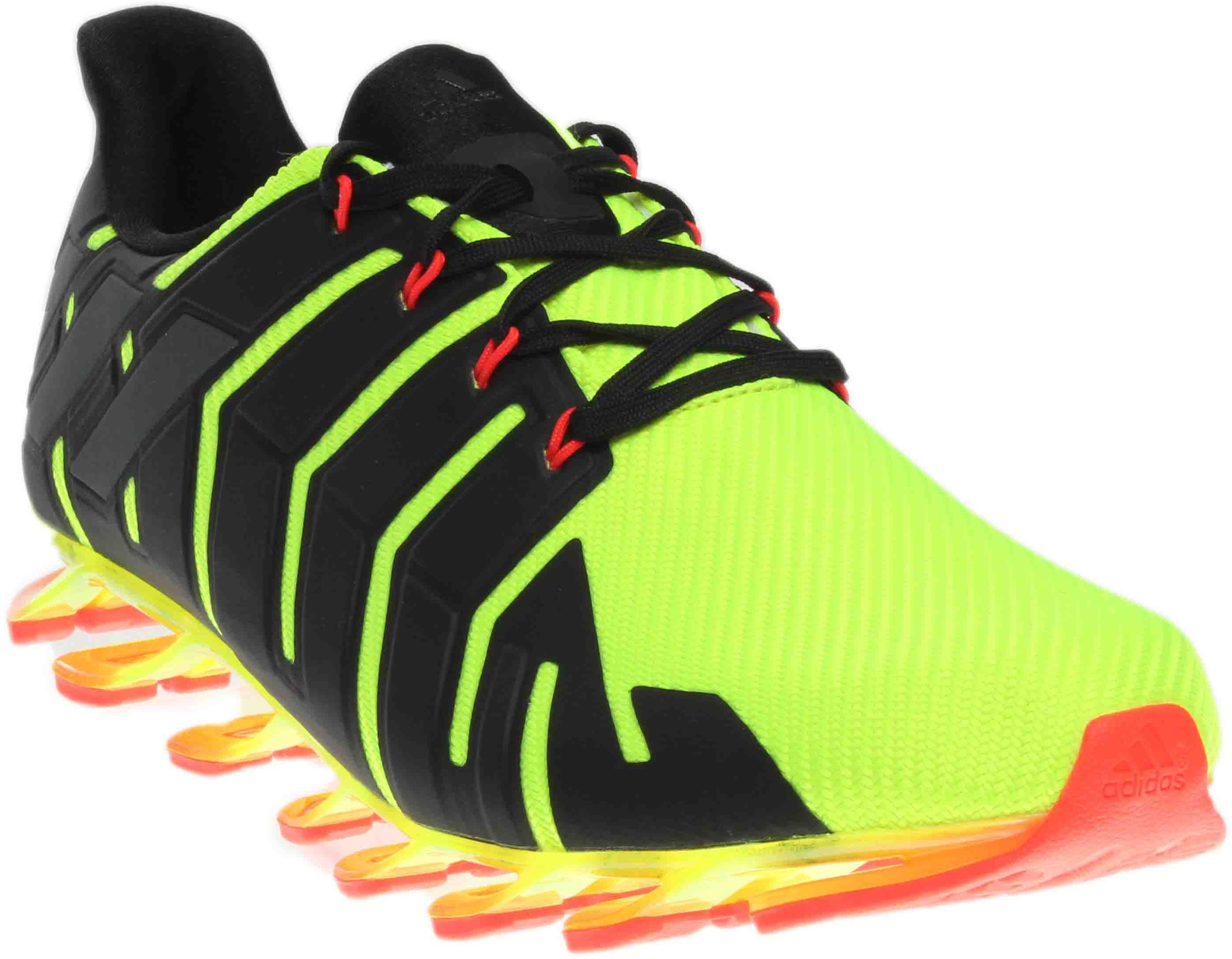 big sale 572eb 7c71b adidas Springblade Pro in Yellow for Men - Lyst
