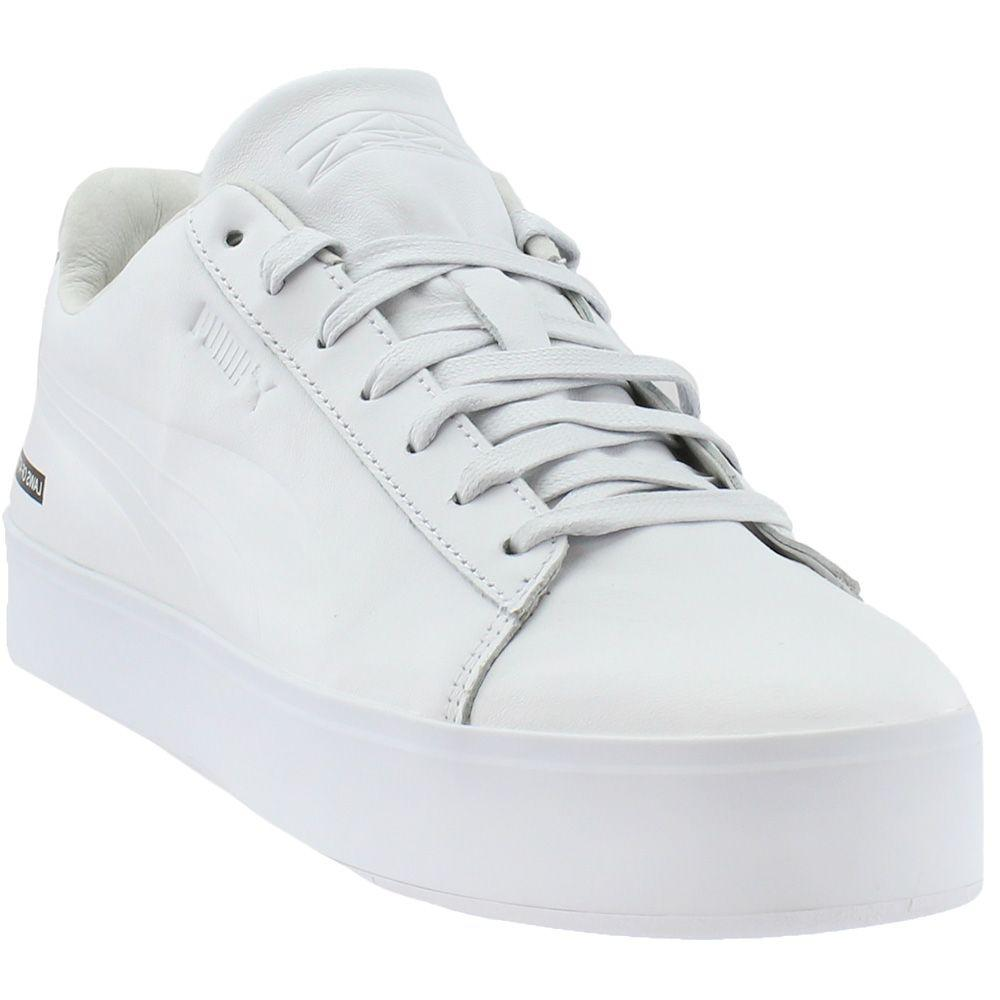 77499d72b080 Lyst - PUMA Black Scale Court Platform in White for Men