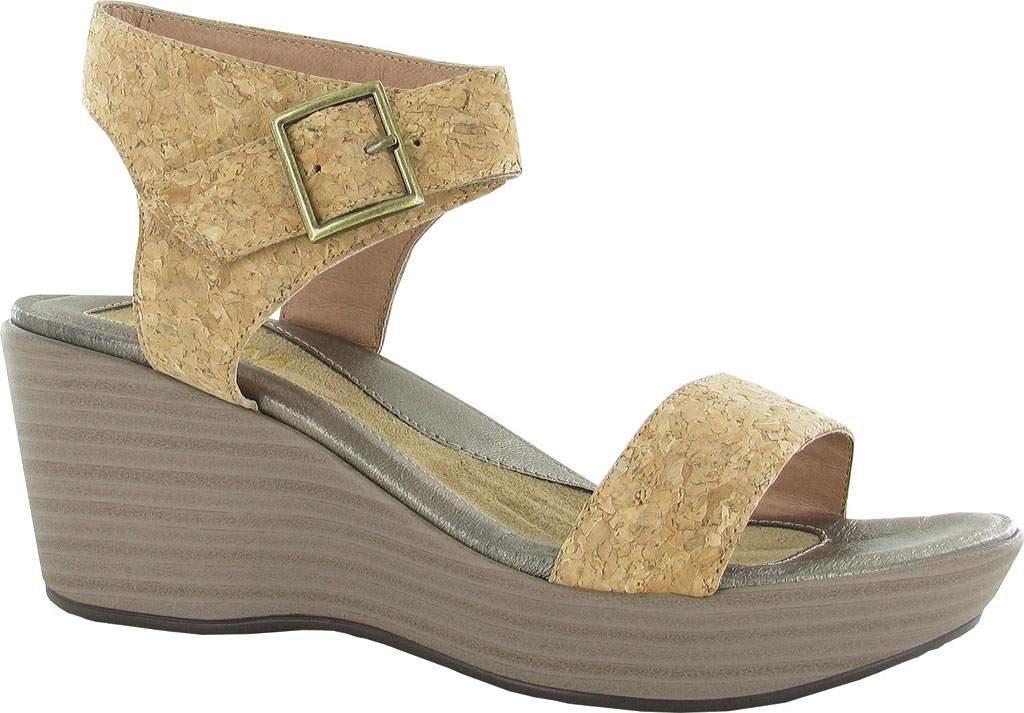 f45e939f9718 Lyst - Naot Caprice Wedge Sandal in Metallic