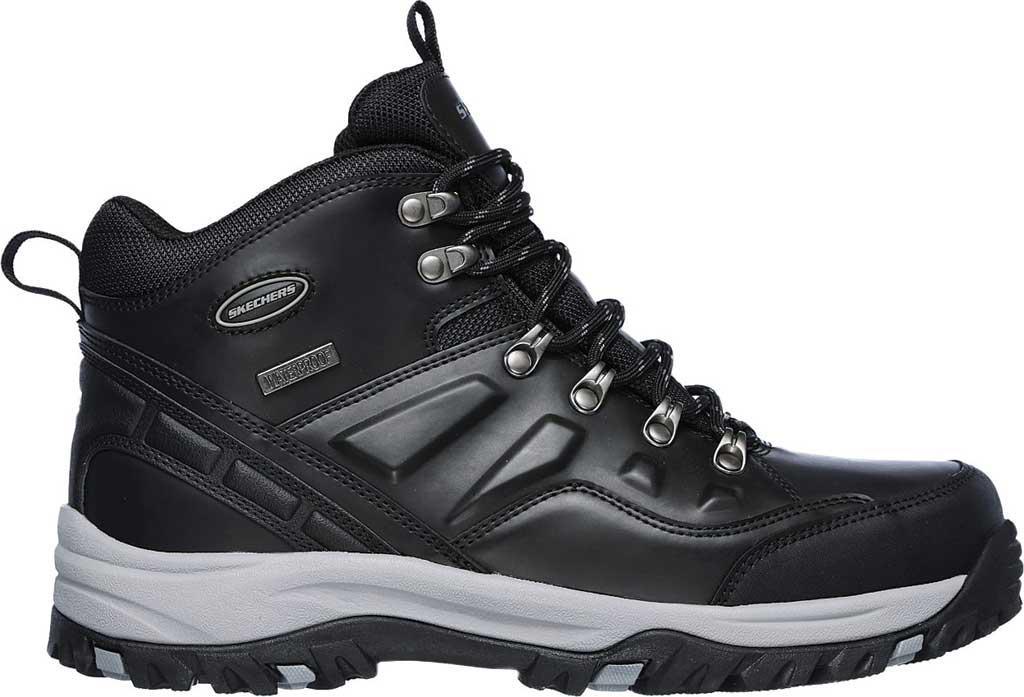 44e7d984d4196 Skechers - Black Relaxed Fit Relment Traven Hiking Boot for Men - Lyst.  View fullscreen