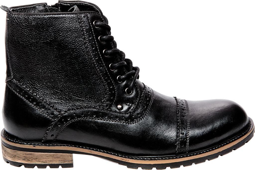 Steve Madden | Black Settler Cap Toe Boot for Men | Lyst. View Fullscreen