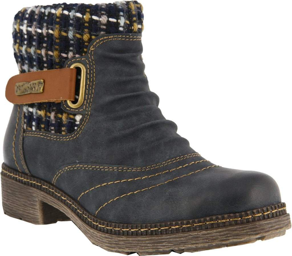 Fake Cheap Price Spring Step Boisa Ankle Boot(Women's) -Medium Brown Synthetic Cheap 100% Guaranteed KUX72vfB