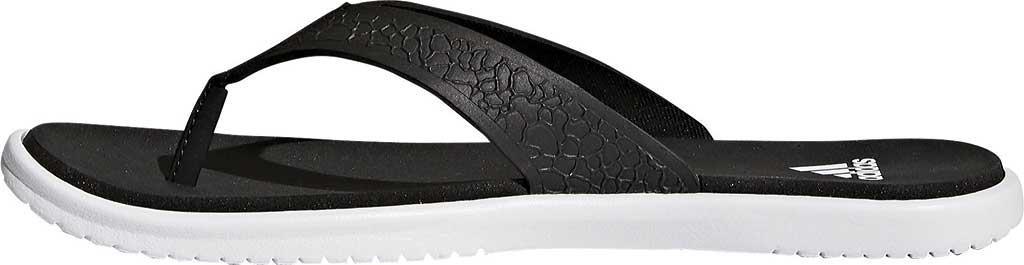 0e2f4798ede375 Lyst - adidas Beachcloud Cloudfoam Y Thong Sandal in Black