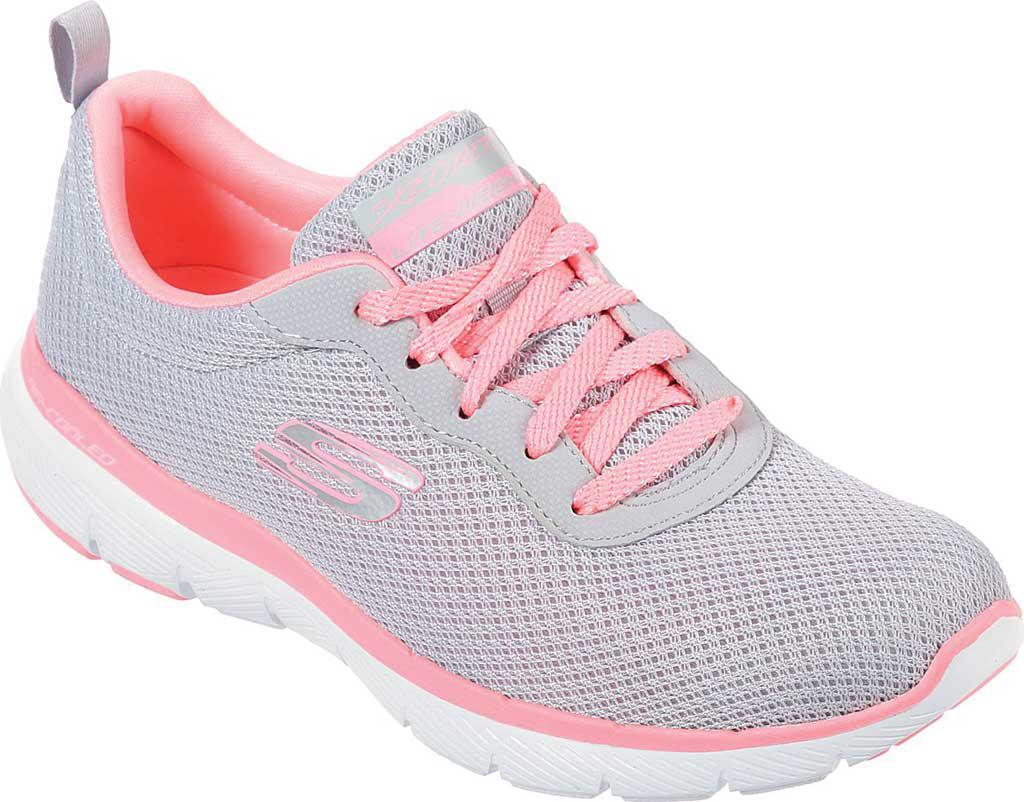 512622214dd05f Skechers Flex Appeal 3.0 First Insight Sneaker in Pink - Lyst