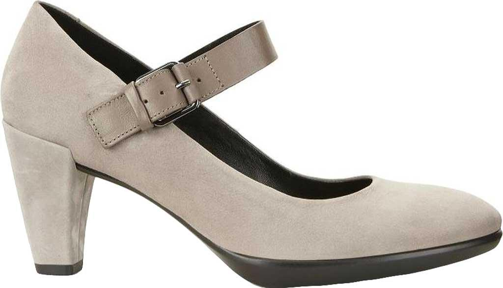 04205e053a Lyst - Ecco Shape 55 Plateau Mary Jane Pump in Gray
