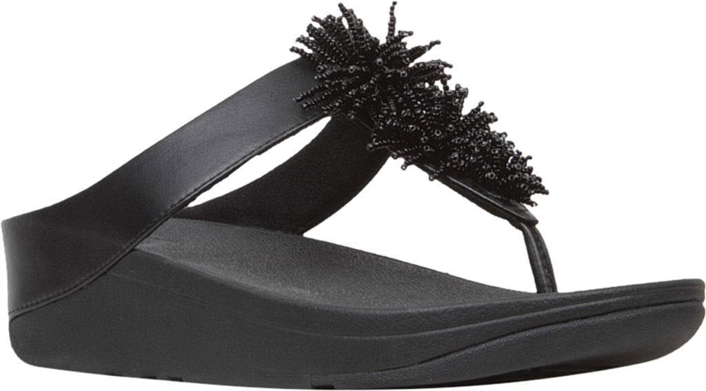 90521968c Lyst - Fitflop Fino Bead Pom Pom Toe Post Sandals in Black