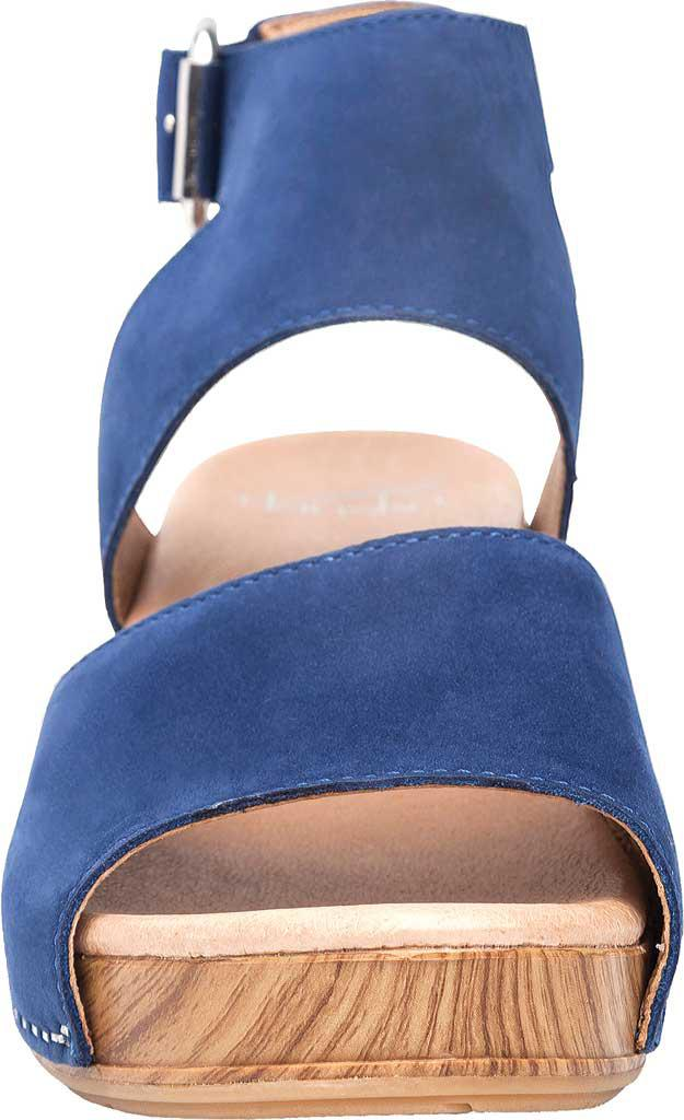 2ffb031093d Lyst - Dansko Minka Ankle Strap Sandal in Blue