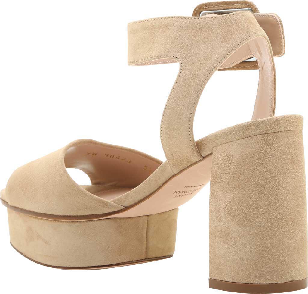 b8727cccba7 Stuart Weitzman - Natural Newdeal Ankle Strap Platform Sandal - Lyst. View  fullscreen