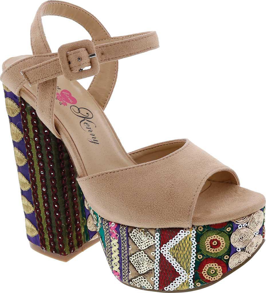 Penny Loves Kenny Skip Platform Sandal (Women's) zKobVUO