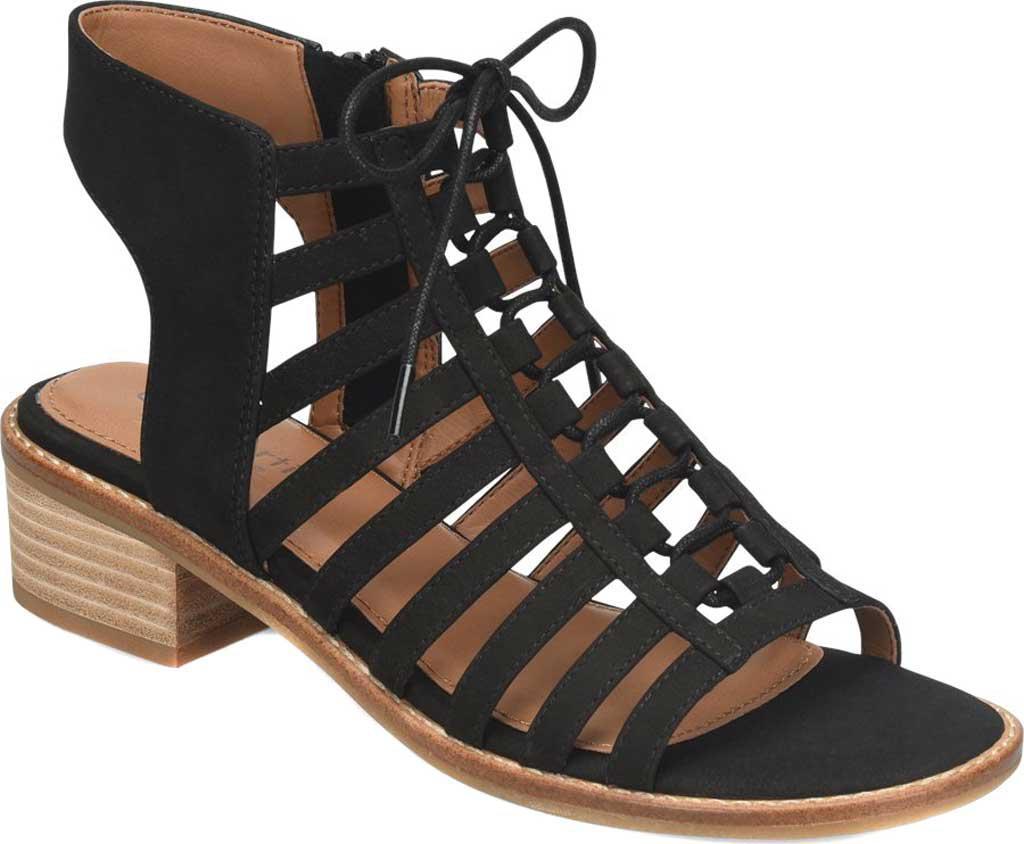 bc40da16cbc Comfortiva - Black Blossom Ghillie Lace Up Sandal - Lyst. View fullscreen