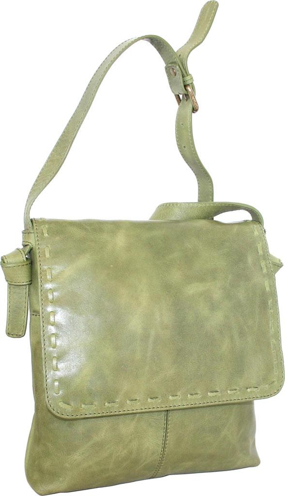 8f1bff9cbfff Lyst - Nino Bossi Christie Leather Crossbody Bag in Green