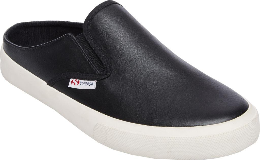 Superga. Women's Black 2388 Slide Sneaker