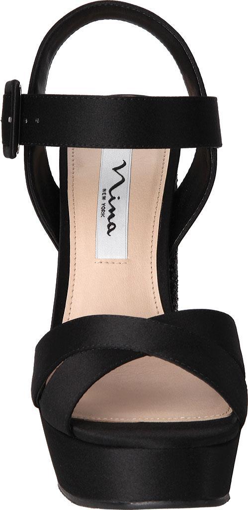 cfe37d9b8040 Nina - Black Savita Strappy Sandal - Lyst. View fullscreen