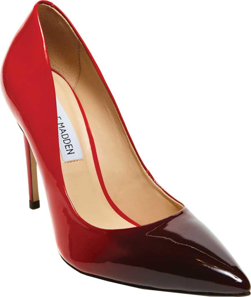 b7b50c2b1c5 Lyst - Steve Madden Zoey Pointed Toe Pump in Red