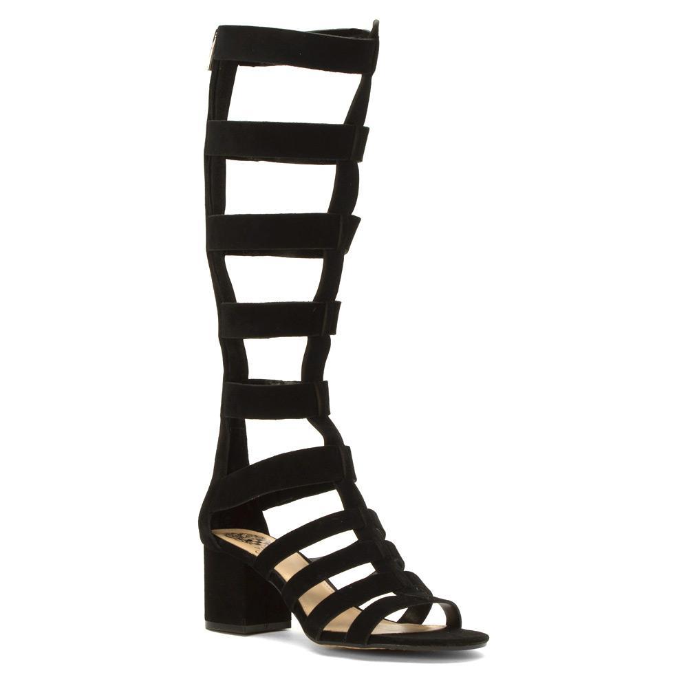 Vince Camuto Brenton Gladiator Sandal In Black Lyst