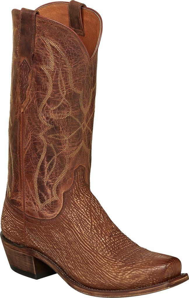 Lucchese Bootmaker HL2024.W8 Toe Cowboy Boot(Men's) -Chocolate Shark Visit Cheap Price Buy Cheap Wide Range Of Outlet Wholesale Price Official Site Online yE2wpgBG