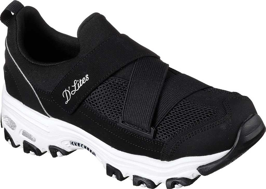 5a9f73f0 Lyst - Skechers D'lites This Just In Sneaker in Black for Men
