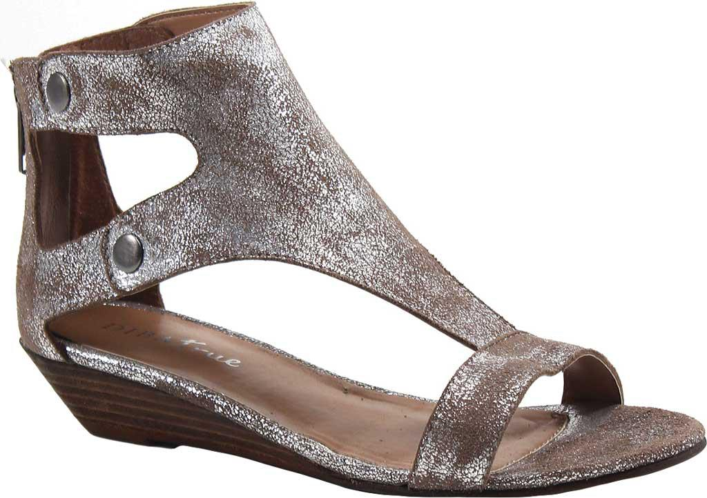 1e23b930bbf909 Lyst - Diba True Kora Rose T Strap Sandal in Metallic
