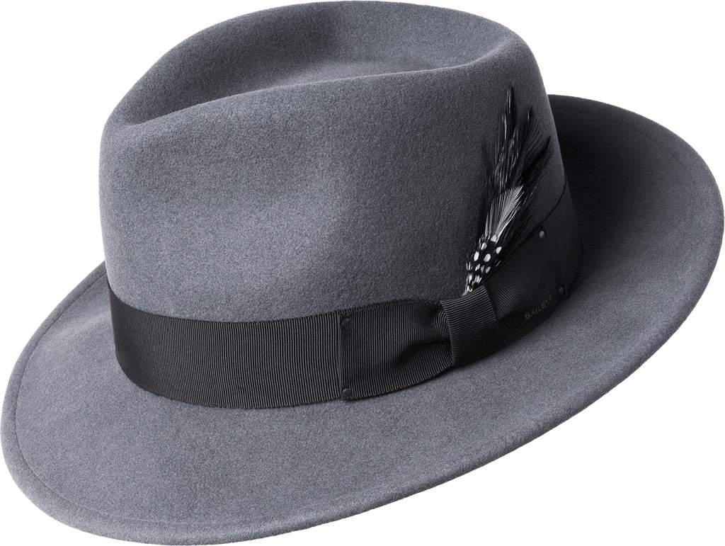 Lyst - Bailey of Hollywood Fedora 7002 in Gray for Men 881beee2f8c4