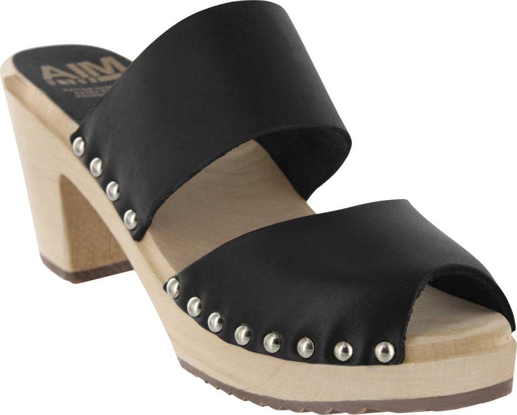 0d07aeb3f79 Lyst - MIA Elva Peep Toe Clog in Black
