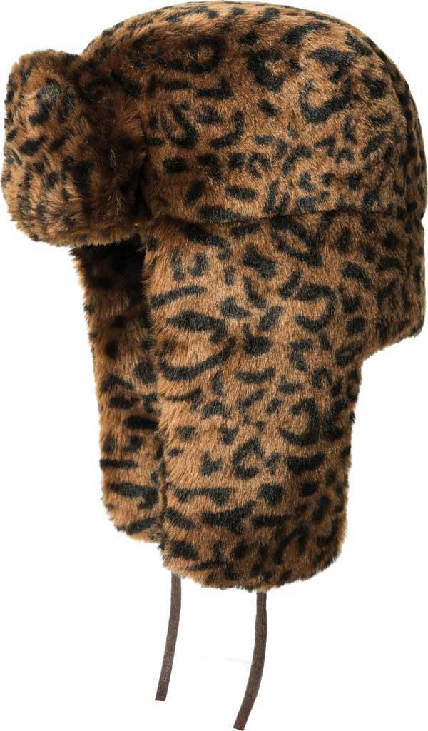 87dcfccfa2a68 Kangol - Brown Leopard Trapper Hat for Men - Lyst. View fullscreen