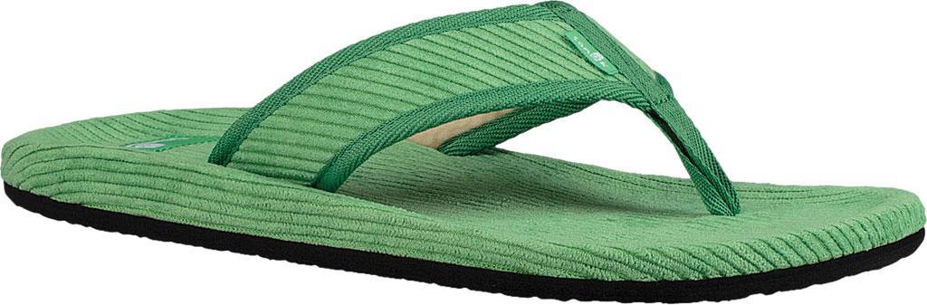 71725adf1 Lyst - Sanuk Furreal Classic Cord Thong Sandal in Green for Men