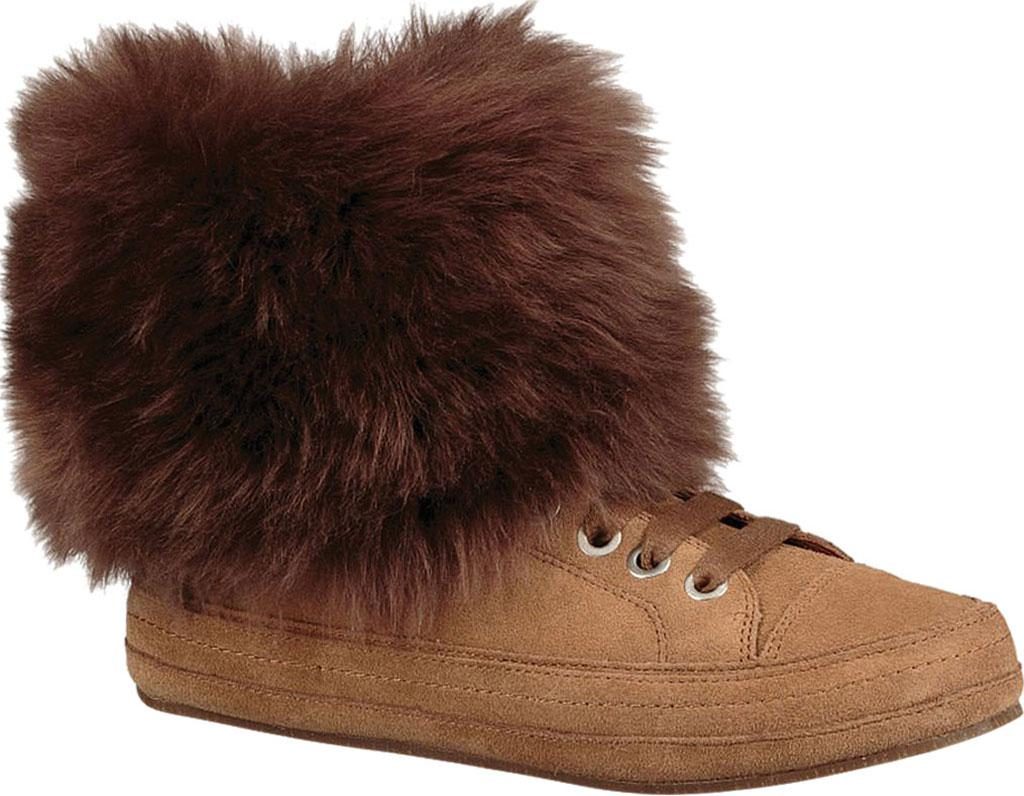 517fbe1c7e5 Lyst - UGG Antoine Fur Bootie in Brown