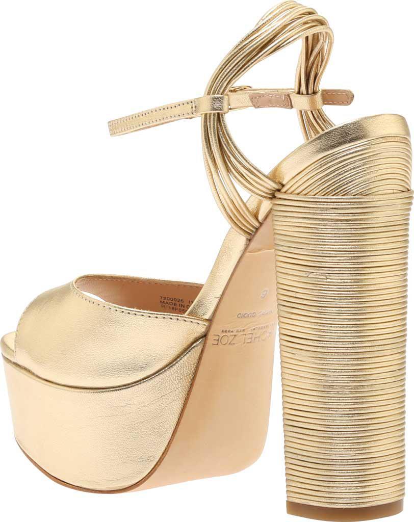 d3afa307cf7 Lyst - Rachel Zoe Willow Platform Heel in Metallic - Save 50%