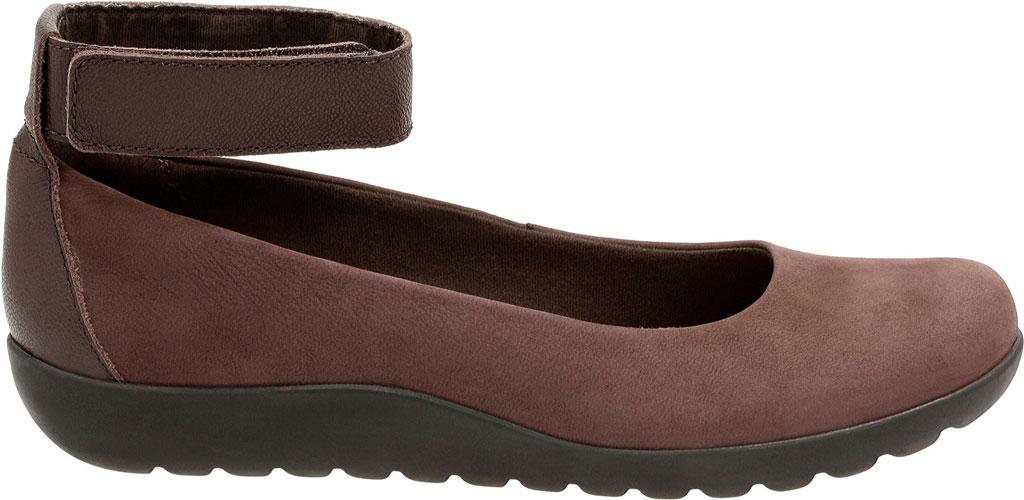 5a06f8376806 Lyst - Clarks Medora Nina Ankle Strap Shoe in Brown
