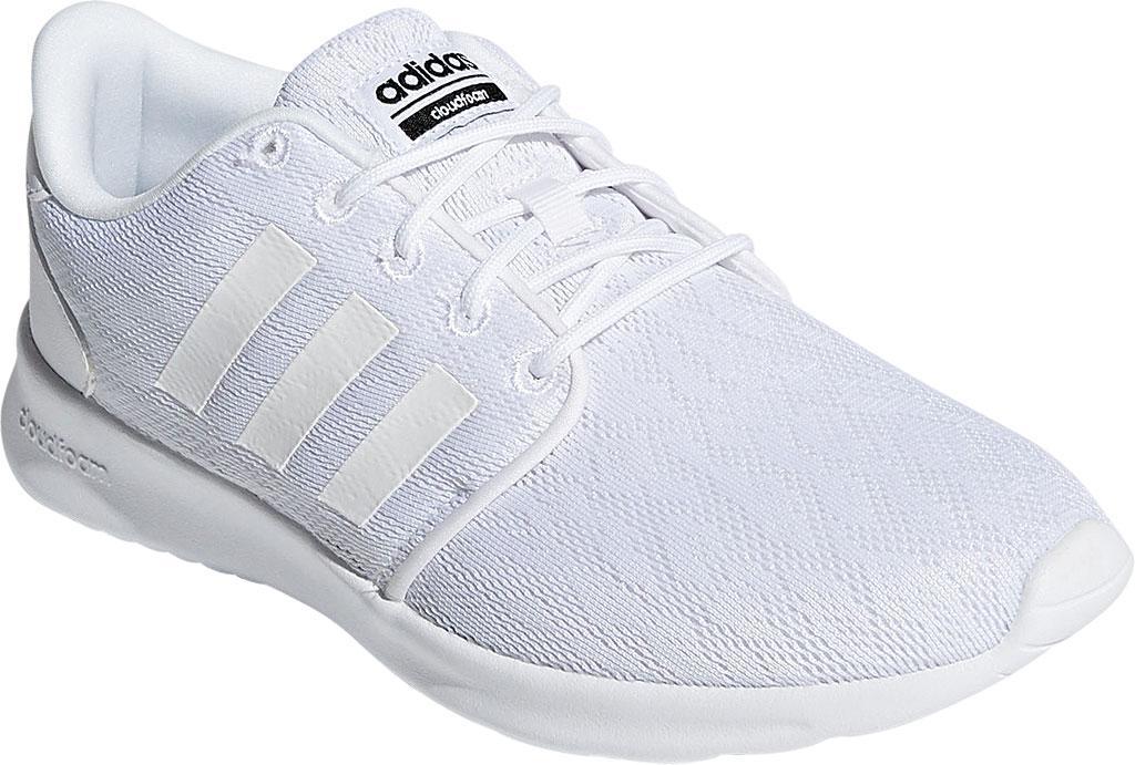 lyst adidas neo cloudfoam qt racer scarpe bianche