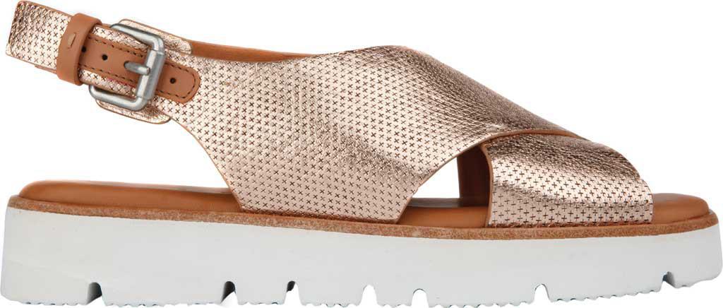 bc2166a74824 Lyst - Gentle Souls Kiki Platform Sandal in Metallic