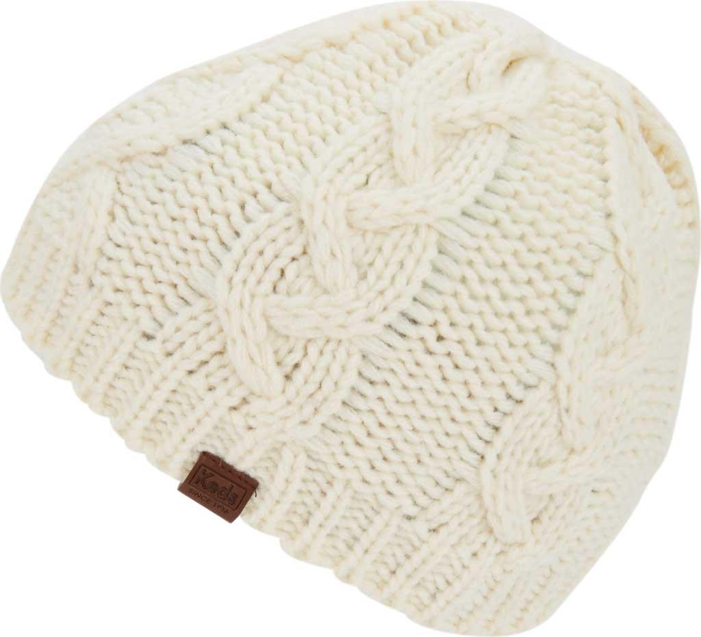 cb9f7701383 Keds - Natural Large Cable Knit Beanie - Lyst. View fullscreen