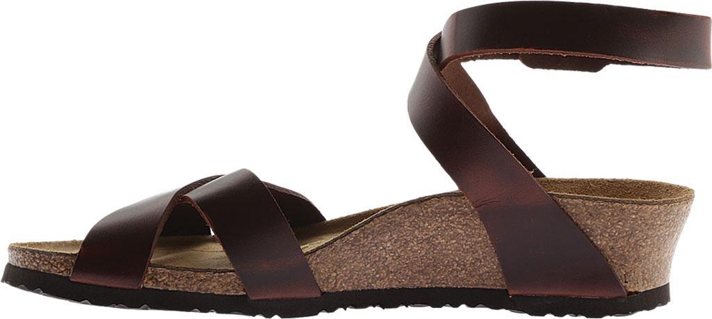 3604b4b6ede Lyst - Birkenstock Papillio Lola Leather Ankle Strap Sandal in Brown