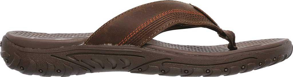 b28b185dacac Skechers - Brown Relaxed Fit Reggae Cobano Thong Sandal for Men - Lyst.  View fullscreen