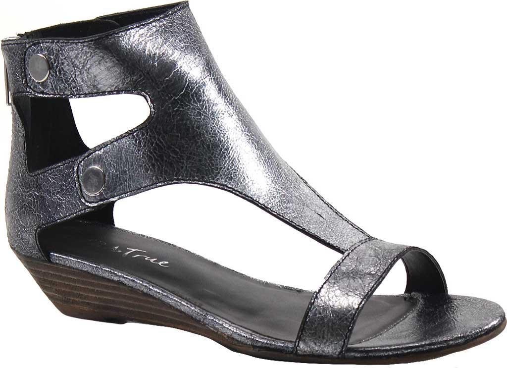 d68727e51991 Lyst - Diba True Kora Rose T Strap Sandal in Metallic