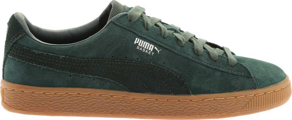 Lyst - PUMA Basket Classic Weatherproof Sneaker in Green for Men f0d69f915