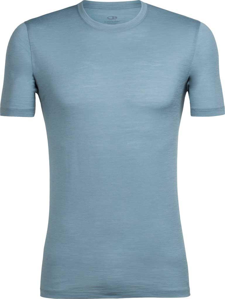 71658a36 Icebreaker Tech Lite Short Sleeve Crewe Solid Tee in Blue for Men - Lyst
