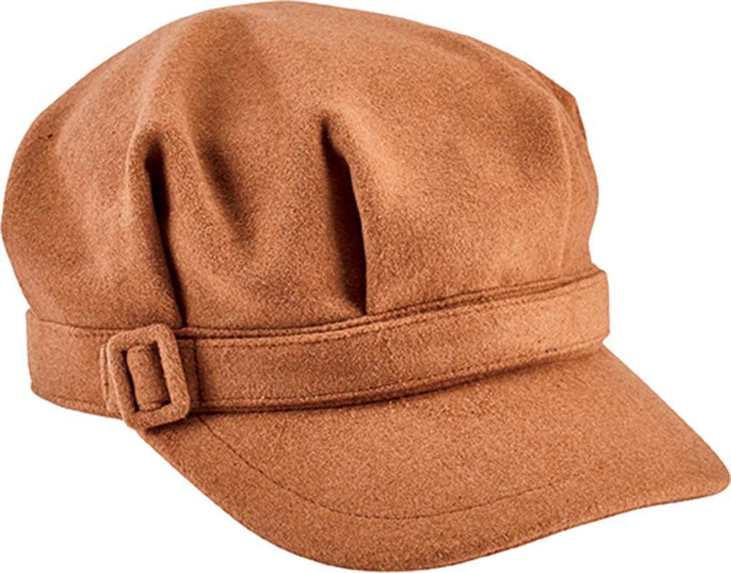 Lyst - San Diego Hat Company Newsboy Cap With Buckle Cth8065 in Brown d2f275f2196f