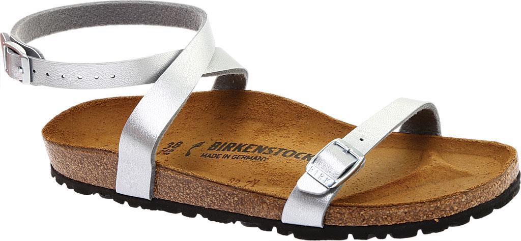 5b485a1ef67 Lyst - Birkenstock Daloa Ankle Strap Sandal in Brown