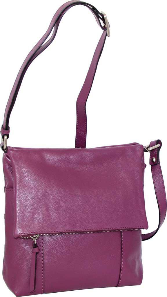 a55841198fc7 Lyst - Nino Bossi Elsa Leather Crossbody in Purple
