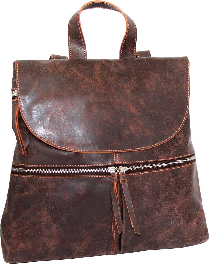 039d739aa3 Lyst - Nino Bossi Sheri Leather Backpack in Brown