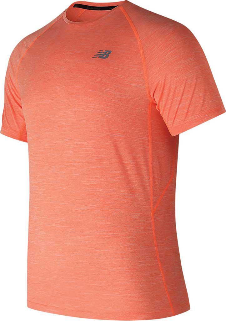 Lyst - New Balance Tenacity Short Sleeve in Orange for Men