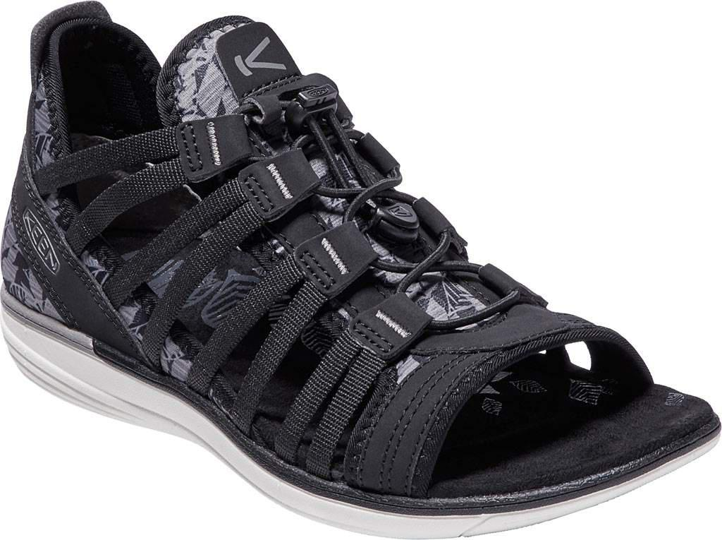 bae87aa69de6 Lyst - Keen Maya Gladiator Sandal in Black