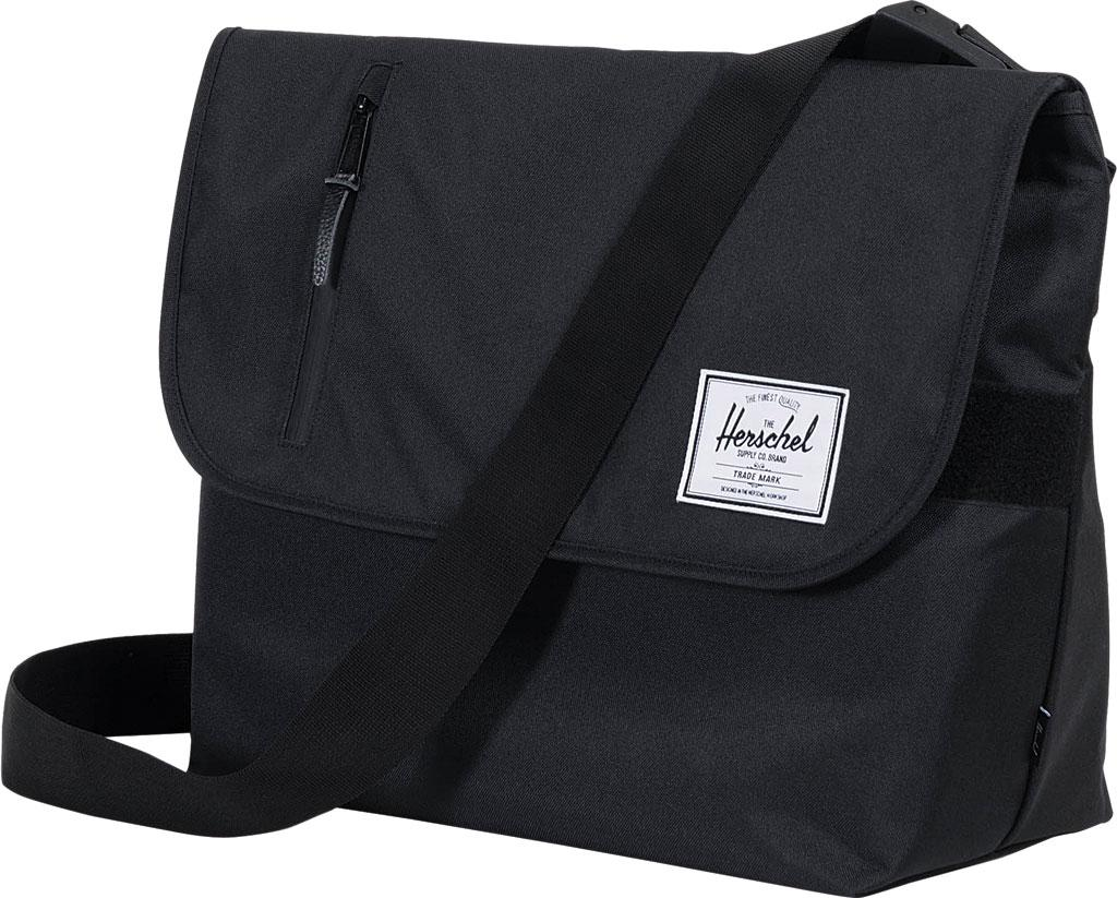 Lyst - Herschel Supply Co. Odell Messenger Bag in Black for Men 6ff546d52d6c0