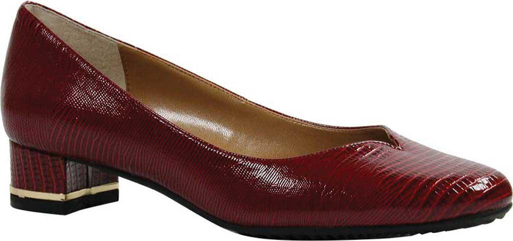 a909564bdae Lyst - J. Reneé Bambalina Low Block Heel Pump in Red